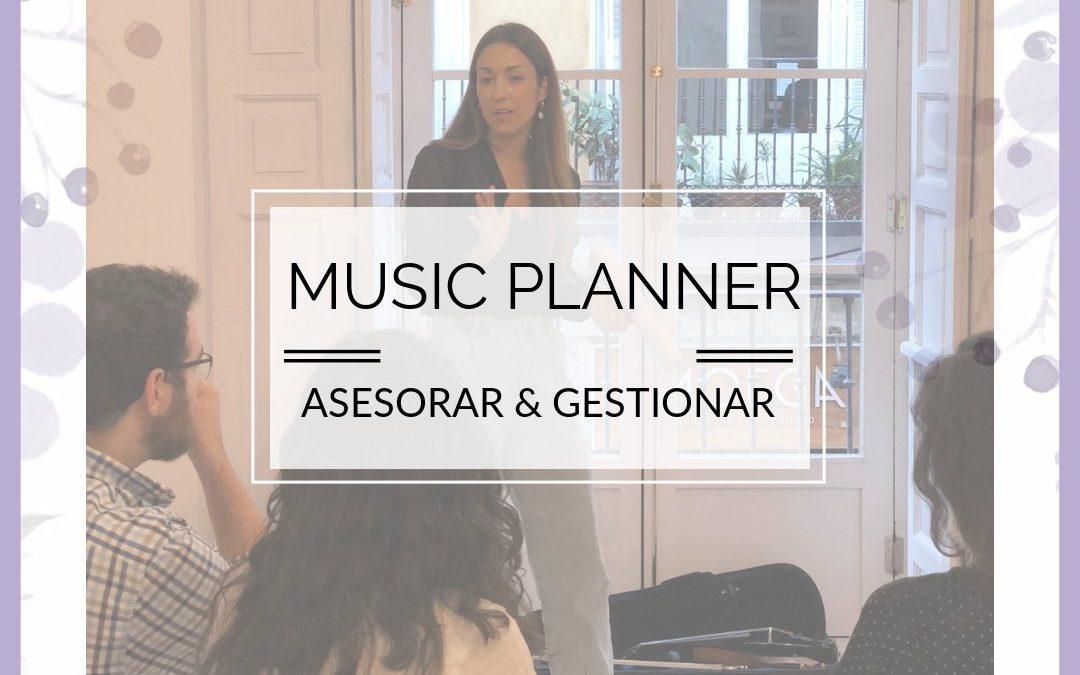 MUSIC PLANNER: ASESORAR & GESTIONAR