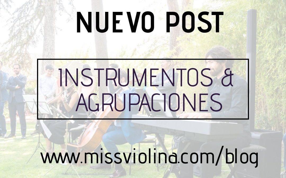 MÚSICOS PARA BODAS: INSTRUMENTOS & AGRUPACIONES DEL MV TEAM