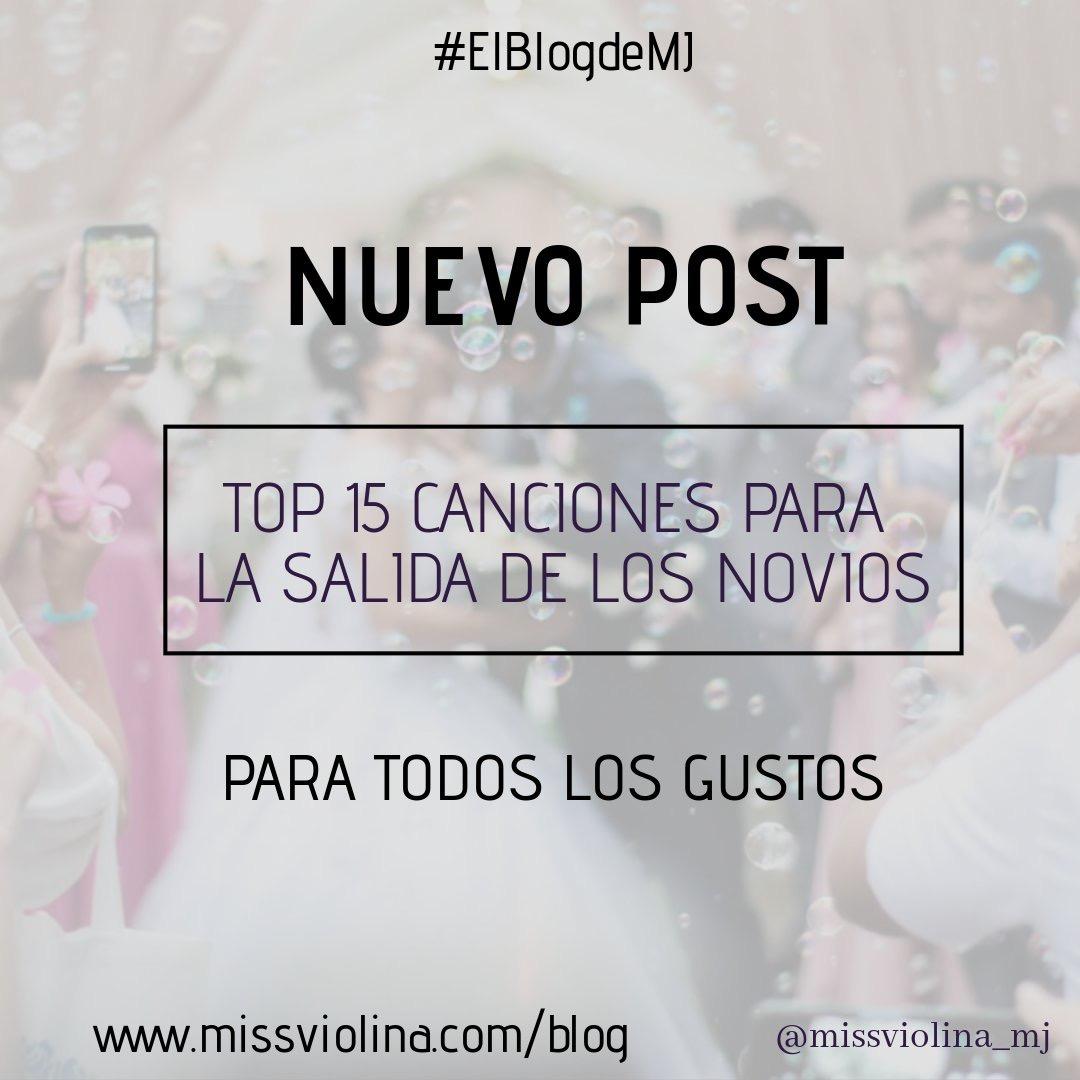 Top 15 Canciones Salida Novios Blog De Música Para Bodas
